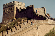 Surrounding Wall Prints - The Great Wall Of China Print by Harald Sund