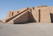 Iraq Prints - The Great Ziggurat Of Ur Was Built Print by Everett