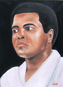 Boxer Paintings - The Greatest by Joseph Love