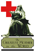 World War One Framed Prints - The Greatest Mother In The World Framed Print by War Is Hell Store