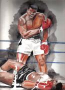 Ali Painting Posters - The Greatest Poster by Torben Gray