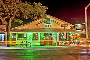 Key West Art - The Greeen Parrot by Scott Meyer