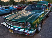 Street Machine Prints - The Green Machine - Chevrolet Chevelle  Print by Lee Dos Santos