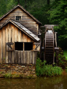 Grist Mill Posters - The Grist Mill Poster by JK York