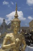 Palace Art - The Grounds Of The Grand Palace by Richard Nowitz