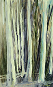 Birch Tree Paintings - The Grove by Andrew King