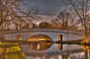 Union Bridge Prints - The Grove Bridge on the Grand Union Canal  Print by Chris Thaxter