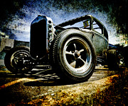 D700 Photo Metal Prints - The Grunge Rod Metal Print by Phil