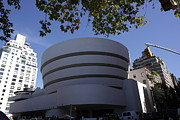 Museum Mile Prints - The Guggenheim Print by David Bearden