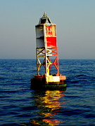 Sail Photographs Prints - The Guiding Light Print by Karen Wiles