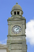 United Kingdom Acrylic Prints - The Guild Hall Clock Tower - Newport Acrylic Print by Rod Johnson