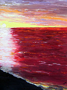 Prophecy Painting Originals - The Gulf by Christy Usilton