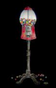 The Gumball Machine Print by Arline Wagner