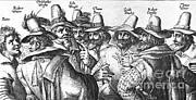 King James Art - The Gunpowder Rebellion, 1605 by Photo Researchers