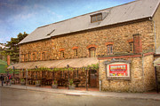 Old Mills Prints - The Hahndorf Mill Print by Mark Richards