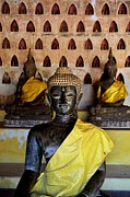 Philosophy Prints - The Hall of Buddhas I in colour Print by Dean Harte
