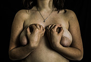Pierre-jean Grouille Art - The Hand And The Nipples by Pierre-jean Grouille