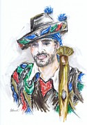 Espana Originals - The Handsome Bandolero or El Bandolero Guapo  by Jill Bennett