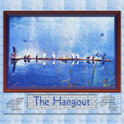 Montana Digital Art - The Hangout by Susan Kinney