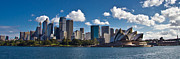Sydney Skyline Art - The Harbour by I Take Thee Photography