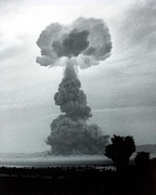 Nuclear Energy Photo Posters - The Harry Shot Was A 32 Kiloton Nuclear Poster by Everett