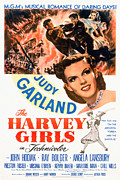 1946 Movies Prints - The Harvey Girls, Judy Garland, 1946 Print by Everett