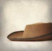 Cowboy Hat Framed Prints - The hat Framed Print by Kristin Kreet