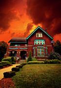 The Haunted Brumder Mansion Print by Phil Koch