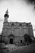Saint Catherine Photos - the haydar pasa mosque h p gallery formerly st catherine church TRNC turkish northern cyprus by Joe Fox