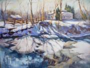 Cincinnati Paintings - The Hayner House by Nancy Achberger