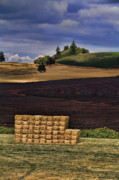 Sunday Drive Photos - The Haystack by Bonnie Bruno
