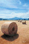Trench Paintings - The Haystack by Theo Michael