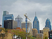 Phillie Metal Prints - The Heart of the City - Philadelphia Pennsylvania Metal Print by Carol Senske