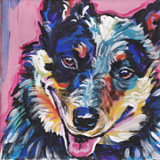 Heeler Paintings - The Heeler by Lea