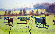 Countryscape Originals - The herd of Troverne by Andre MEHU