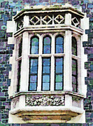 Coat Of Arms Digital Art - The Heritage Windows of the Teachers College by Steve Taylor