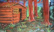 Log Cabin Pastels - The Hermit by Casey Park