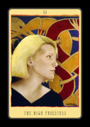 Tarot Paintings - The High Priestess... by Will Bullas