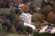 Nantucket Aerials - The Highlands Mansion and Gardens 7001 Sheaff Lane  Fort Washington PA 19034 2005 by Duncan Pearson