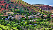 Jerome Prints - The Hills of Jerome Print by Saija  Lehtonen