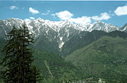 India Pyrography Metal Prints - the Himalayas Metal Print by Igor Fedonyuk