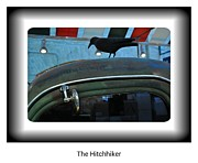 Chev Pickup Posters - The Hitchhiker Poster by Daryl Macintyre