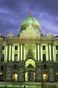 Domes Prints - The Hofburg gate in the Print by Taylor S. Kennedy