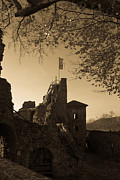 Wandern Posters - The Hohenstein castle Poster by Andreas Levi
