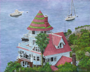 Engagement Art - The Holly Hill House by Ann Arensmeyer