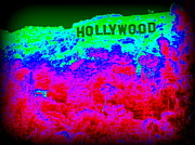 Hollywoodland Prints - The Hollywood Sign Print by Don Struke