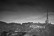 Monica Framed Prints - The Hollywood Sign Framed Print by Ralf Kaiser
