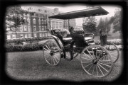 Horse And Buggy Framed Prints - The Homestead Carriage I Framed Print by Steven Ainsworth
