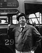 1950s Tv Photos - The Honeymooners, Jackie Gleason by Everett