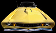 Mopar Metal Prints - The Hood Goes On Forever Metal Print by Gordon Dean II